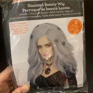Halloween haunted beauty adult wig